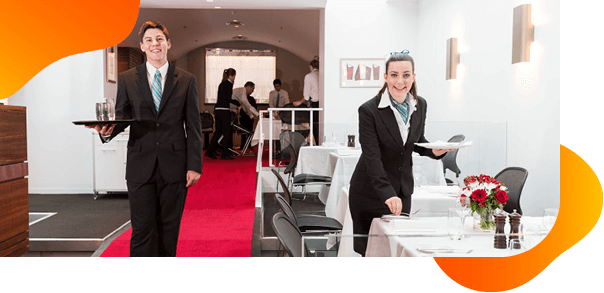 Bachelor of Business Hospitality Management students in Australia